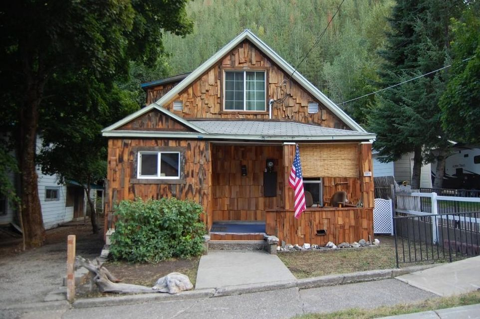 Single Family Home for Sale at 841 S Division Street 841 S Division Street Wardner, Idaho 83837 United States