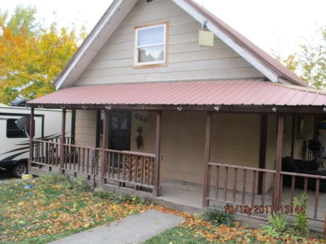 Single Family Home for Sale at 640 oak Street 640 oak Street Potlatch, Idaho 83855 United States