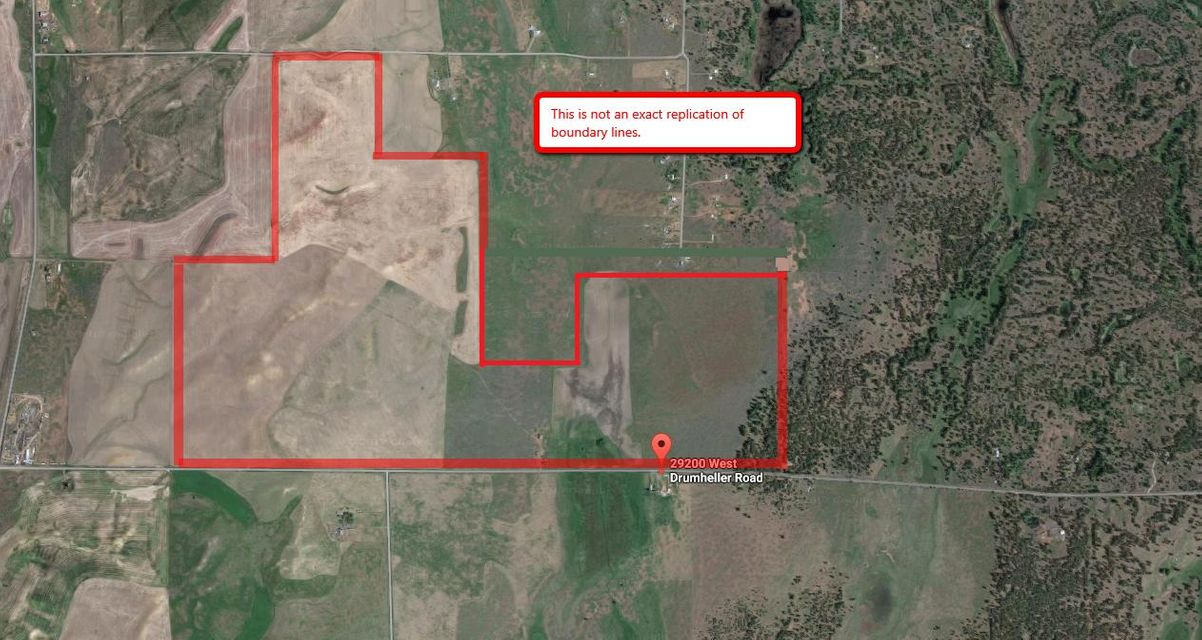 Land for Sale at 29200 W Drumheller Road 29200 W Drumheller Road Cheney, Washington 99008 United States