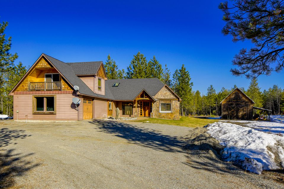 Single Family Home for Sale at 43 Dancing Lights Lane 43 Dancing Lights Lane Athol, Idaho 83801 United States