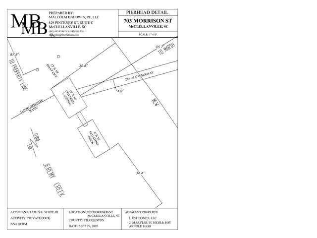 703  Morrison Street Mcclellanville, SC 29458