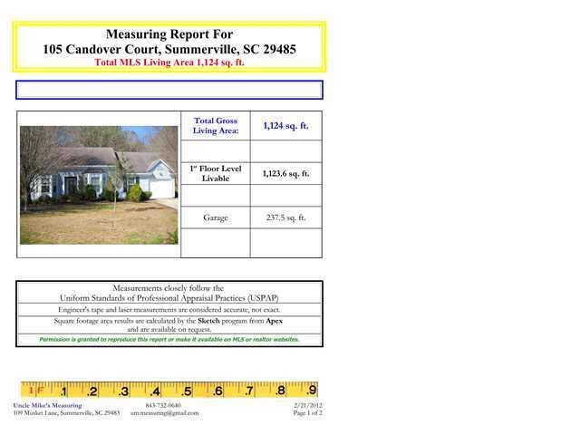 105  Candover Court Summerville, SC 29485