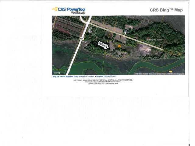 8136  Rosa Scott Road Edisto Island, SC 29438