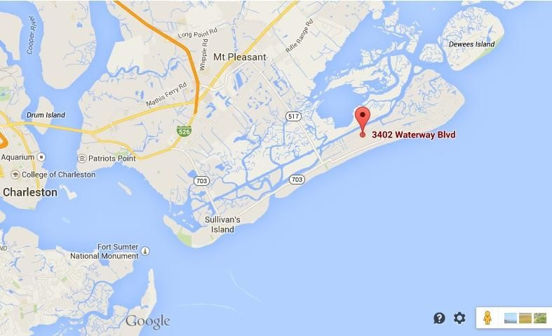 3402  Waterway Boulevard Isle Of Palms, SC 29451
