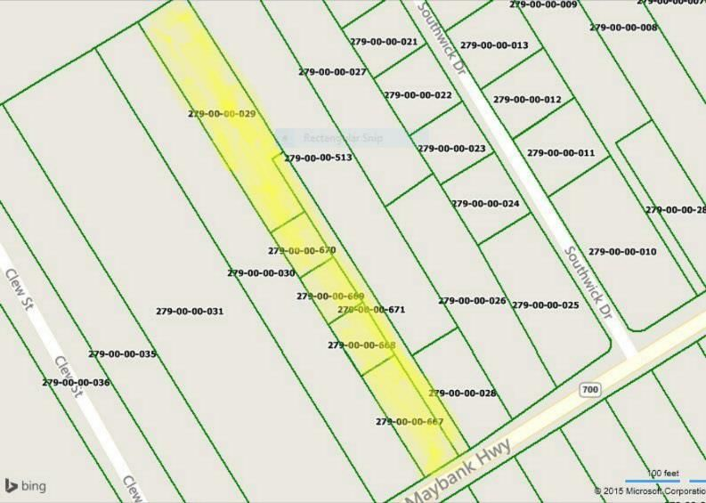 3320 Maybank Highway Vacant Land For Sale In Johns Island Sc
