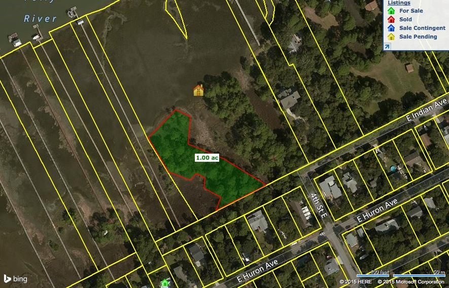 Indian East (Potential Lot B) Folly Beach, SC 29439