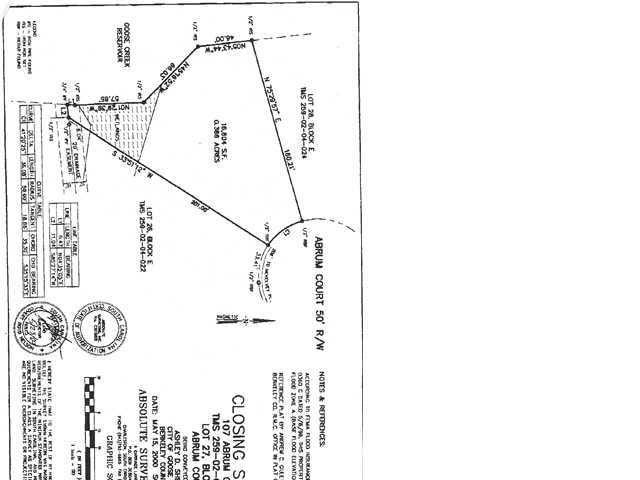 107  Abrum Court Goose Creek, SC 29445