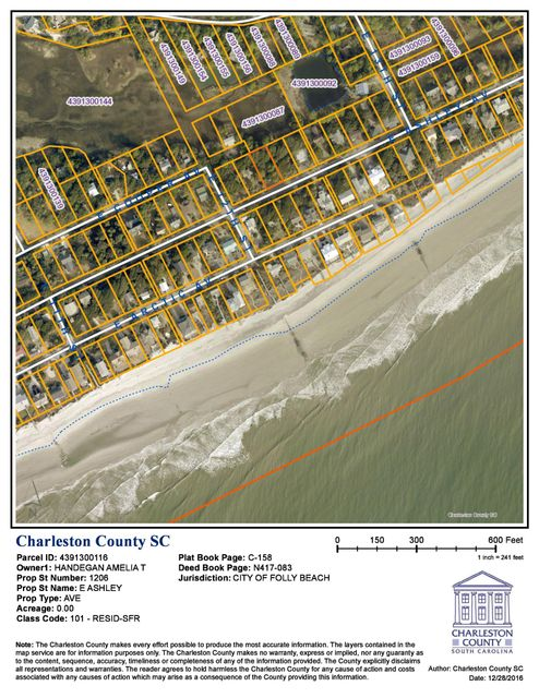 1206 E Ashley Avenue Folly Beach, SC 29439