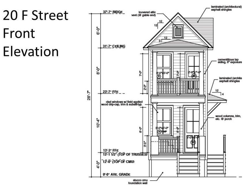 20  F Street Charleston, SC 29403