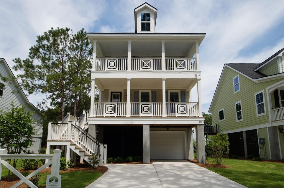 Cottages on Periwinkle Homes For Sale - 1638 Periwinkle Dr, Mount Pleasant, SC - 0