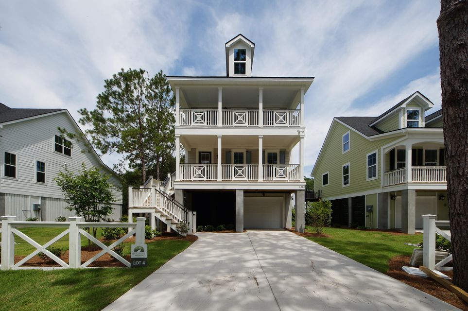 Cottages on Periwinkle Homes For Sale - 1638 Periwinkle Dr, Mount Pleasant, SC - 1