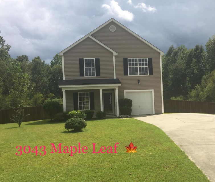 3043  Maple Leaf Drive Moncks Corner, SC 29461