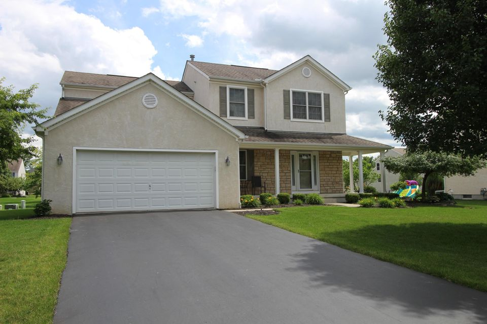 Photo of home for sale at 6195 Anndina Court, Hilliard OH