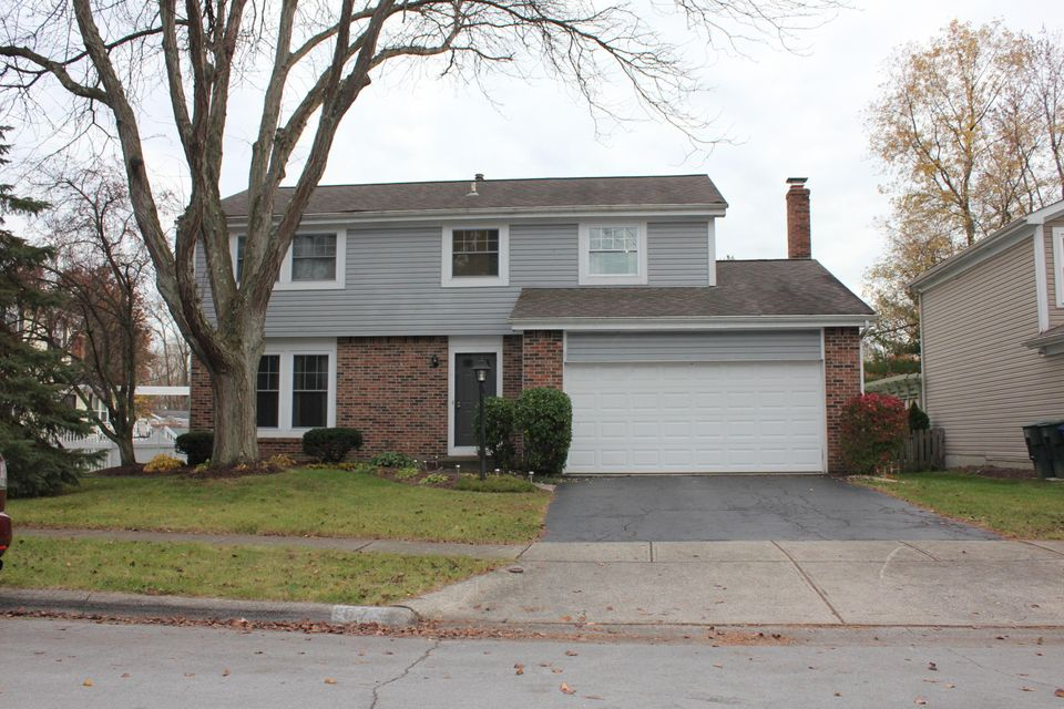 Photo of home for sale at 1673 WOODBLUFF Drive, Powell OH