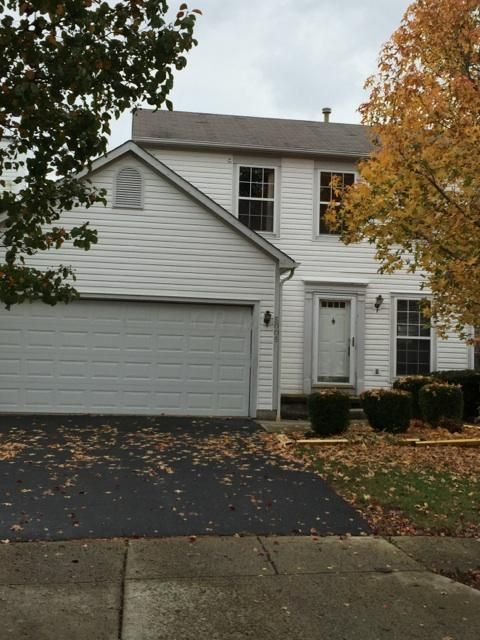 Photo of home for sale at 5005 Crestbury Court, Hilliard OH