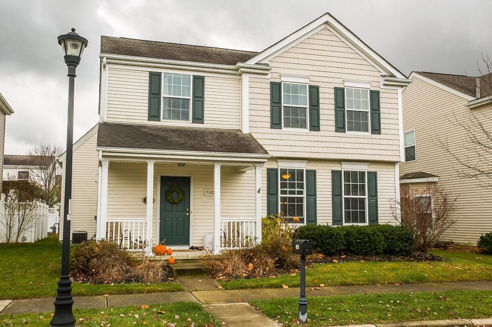 Photo of home for sale at 7183 Alma Terrace Drive, New Albany OH