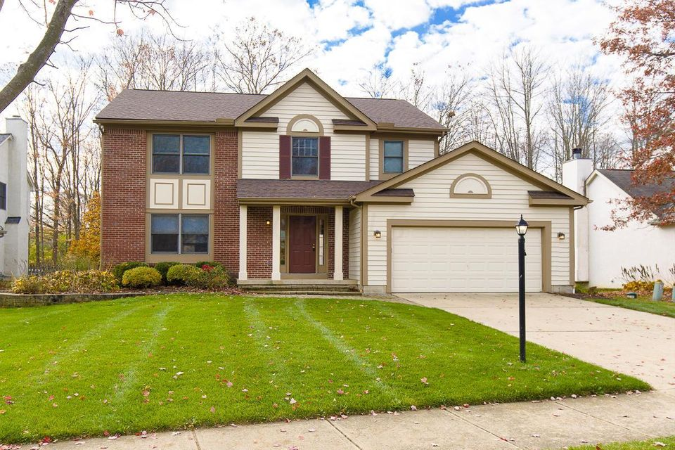 Photo of home for sale at 273 Hull Drive W, Delaware OH