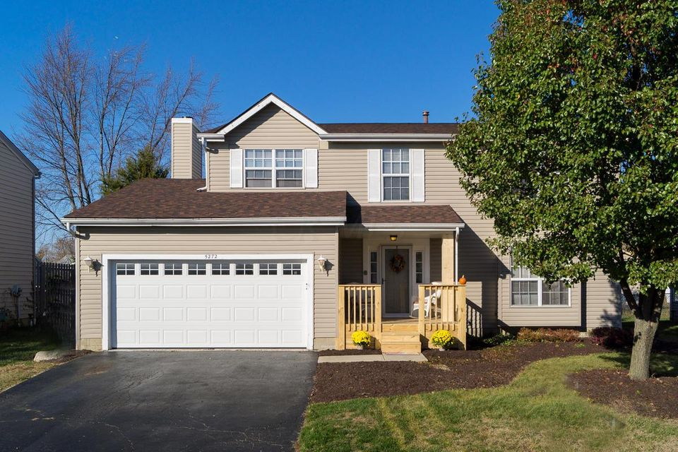Photo of home for sale at 5272 Redmond Court, Hilliard OH