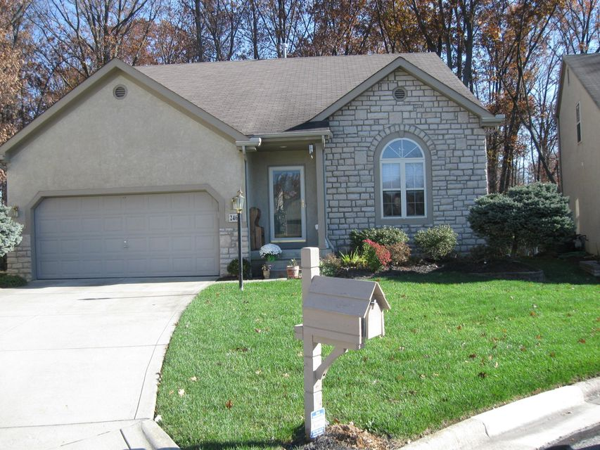 Photo of home for sale at 2468 Tevis Ann Court, Dublin OH