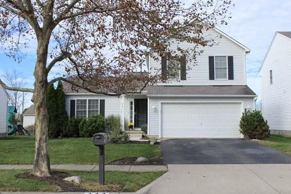 Photo of home for sale at 343 Galloway Ridge Drive, Galloway OH
