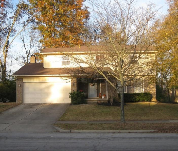Photo of home for sale at 100 NICOLE Drive, Westerville OH