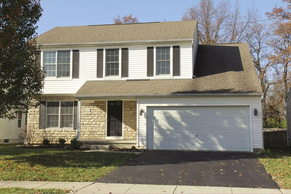 Photo of home for sale at 8617 Smokey Hollow Drive, Lewis Center OH