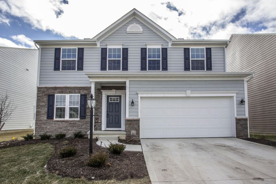 Photo of home for sale at 6389 Brandon Drive, Lewis Center OH