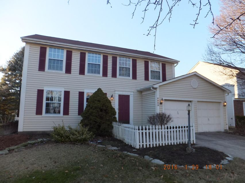 Photo of home for sale at 6889 Spruce Pine Drive, Columbus OH
