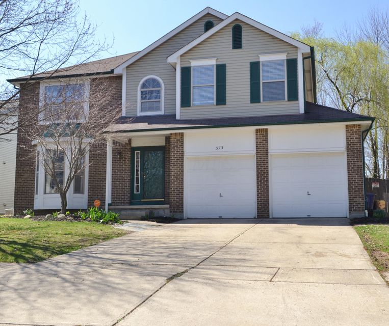 Photo of home for sale at 573 Ozem Gardner Way, Westerville OH