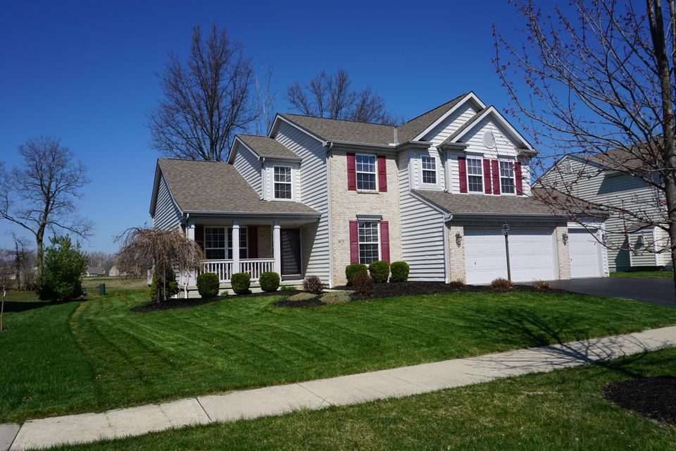 Photo of home for sale at 4678 Greyson Drive, Powell OH