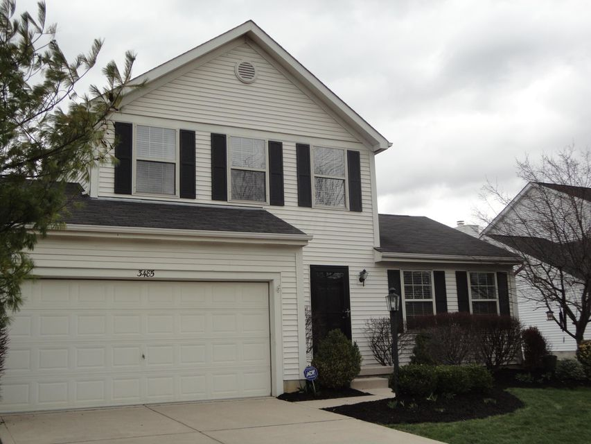 Photo of home for sale at 3485 Darby Glen Boulevard, Hilliard OH