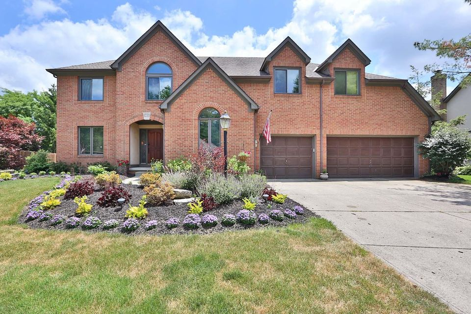 Photo of home for sale at 8228 Lake Bluff Court, Columbus OH
