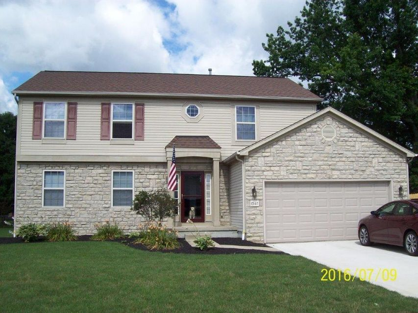 Photo of home for sale at 1547 Heatherview Lane, Heath OH