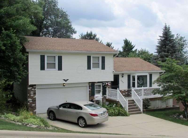 Photo of home for sale at 240 Seneca Drive, Lancaster OH