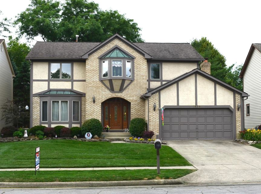 Photo of home for sale at 7435 Mapleleaf Boulevard, Columbus OH