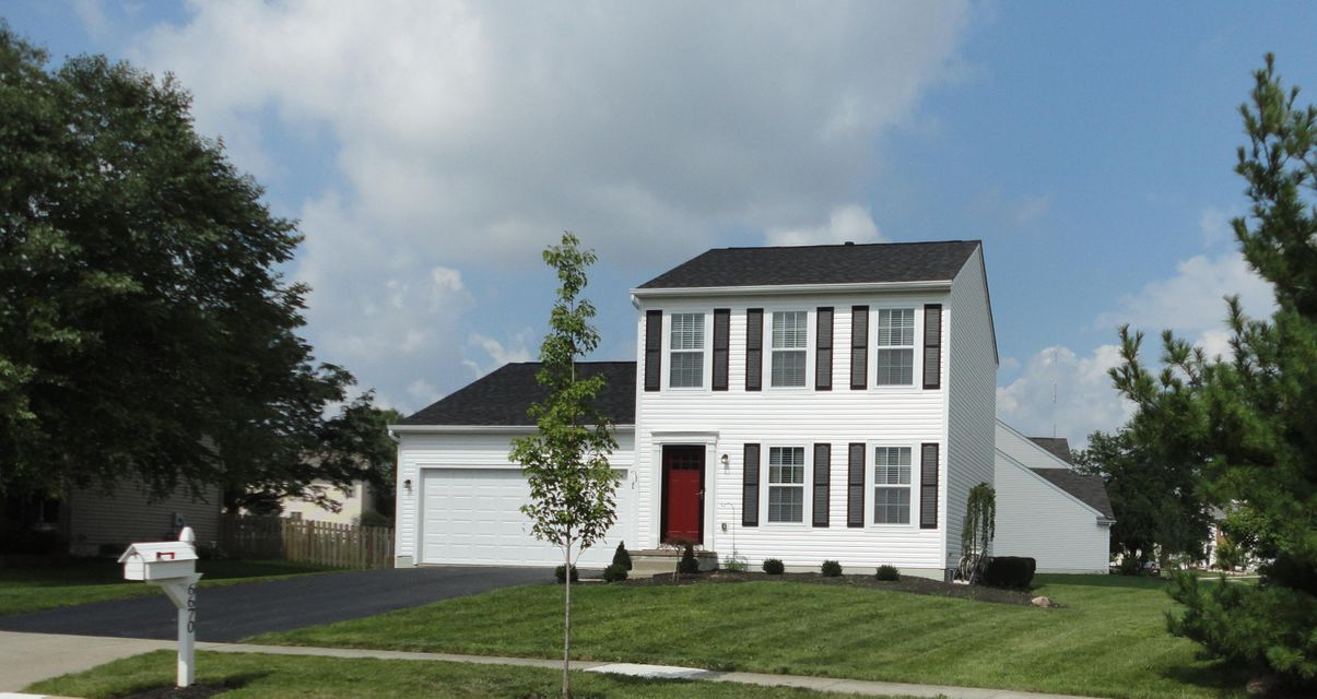 Photo of home for sale at 6670 Sorensen Place, Westerville OH