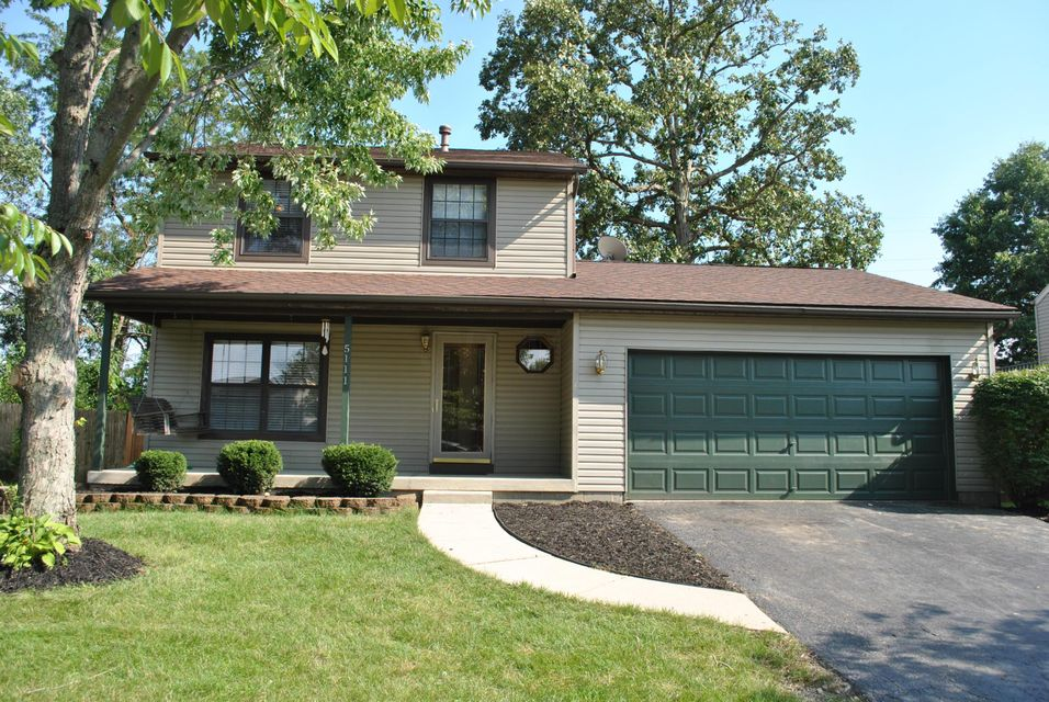 Photo of home for sale at 5111 WOLLASTON Court, Columbus OH