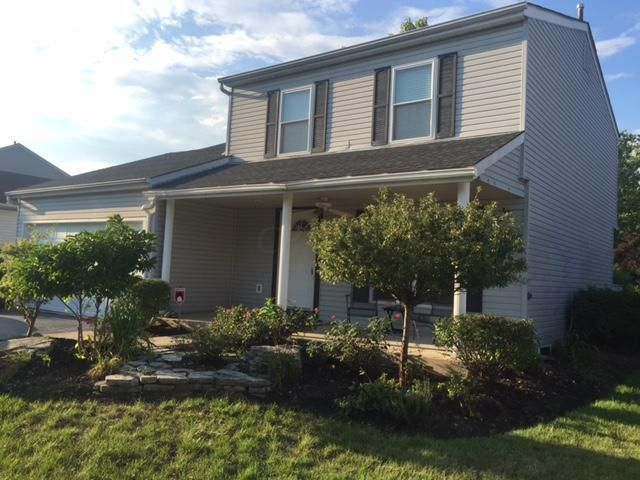 Photo of home for sale at 3492 High Creek Drive, Columbus OH