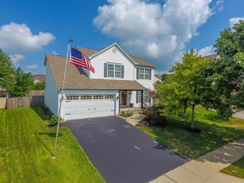 Photo of home for sale at 602 MILL WOOD Boulevard, Marysville OH
