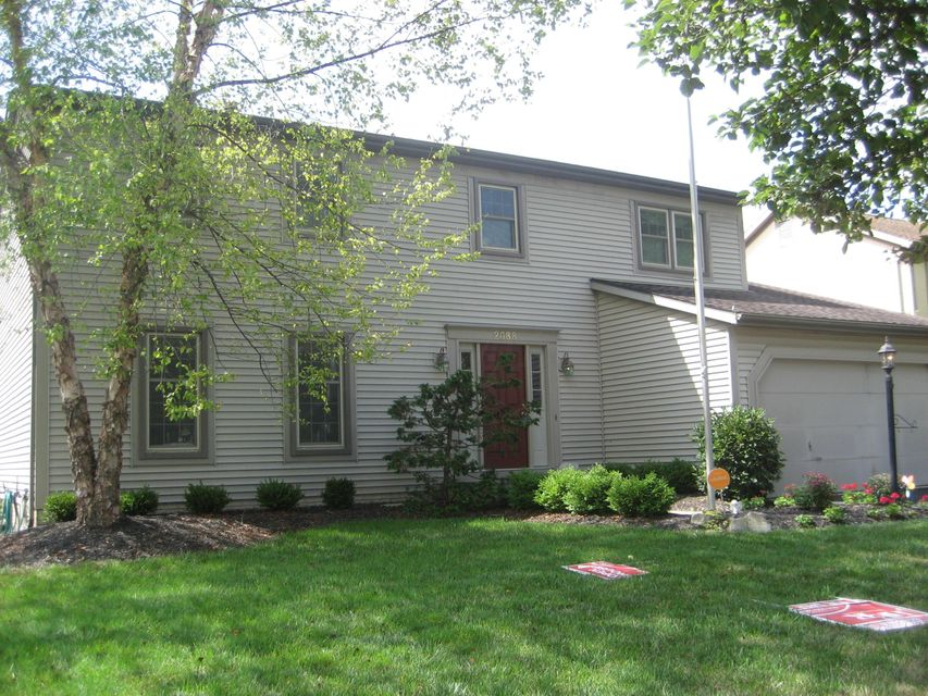 Photo of home for sale at 2688 Westwind Court, Hilliard OH