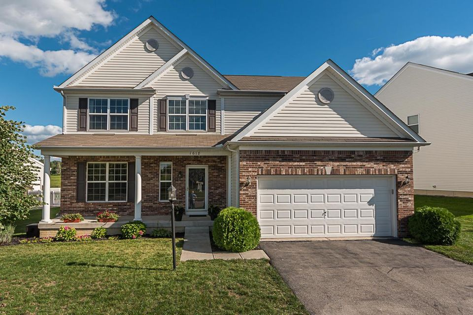 Photo of home for sale at 1618 Adena Pointe Drive, Marysville OH