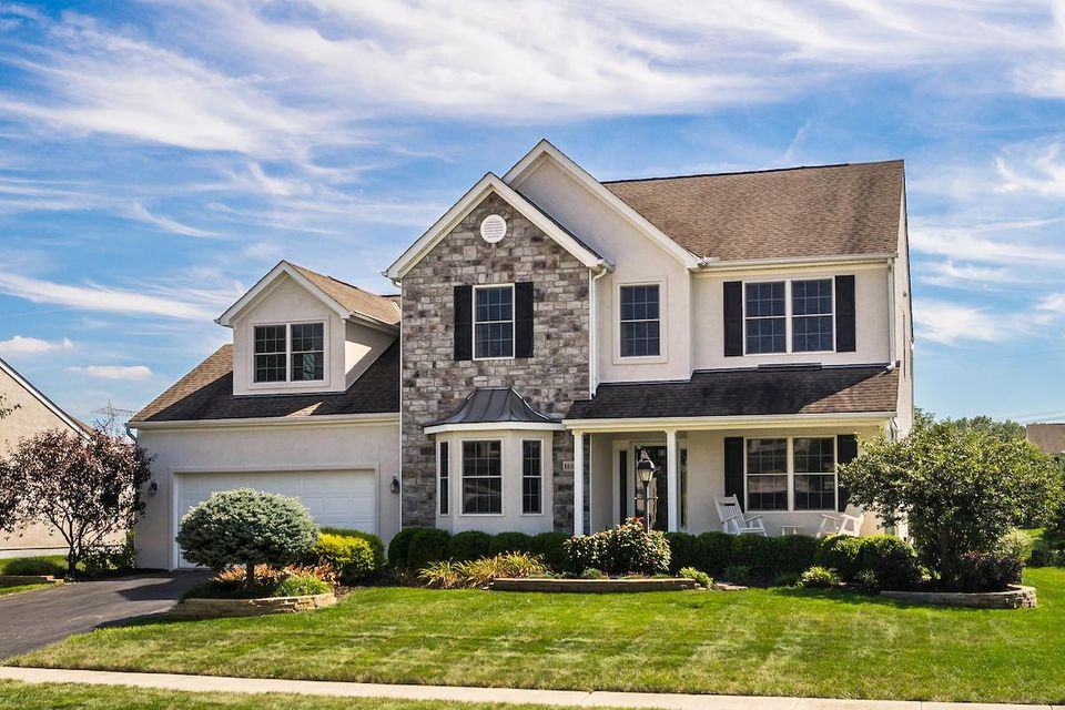 Photo of home for sale at 1632 Summersweet Circle, Lewis Center OH