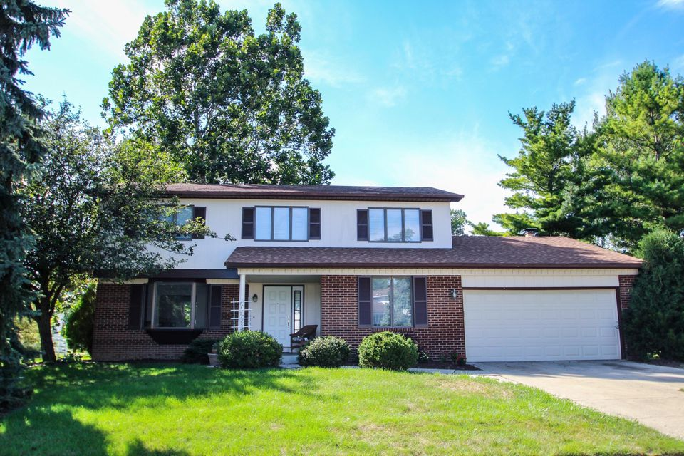 Photo of home for sale at 1839 Hickory Hill Drive, Columbus OH