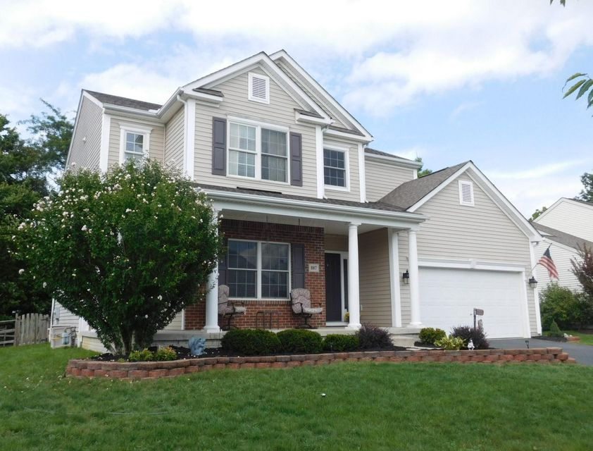 Photo of home for sale at 887 Sapphire Flame Drive, Delaware OH