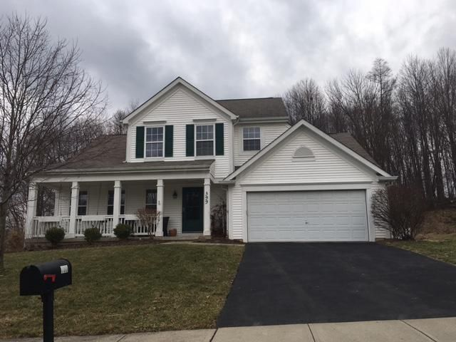 Photo of home for sale at 399 Highbanks Valley Court, Newark OH