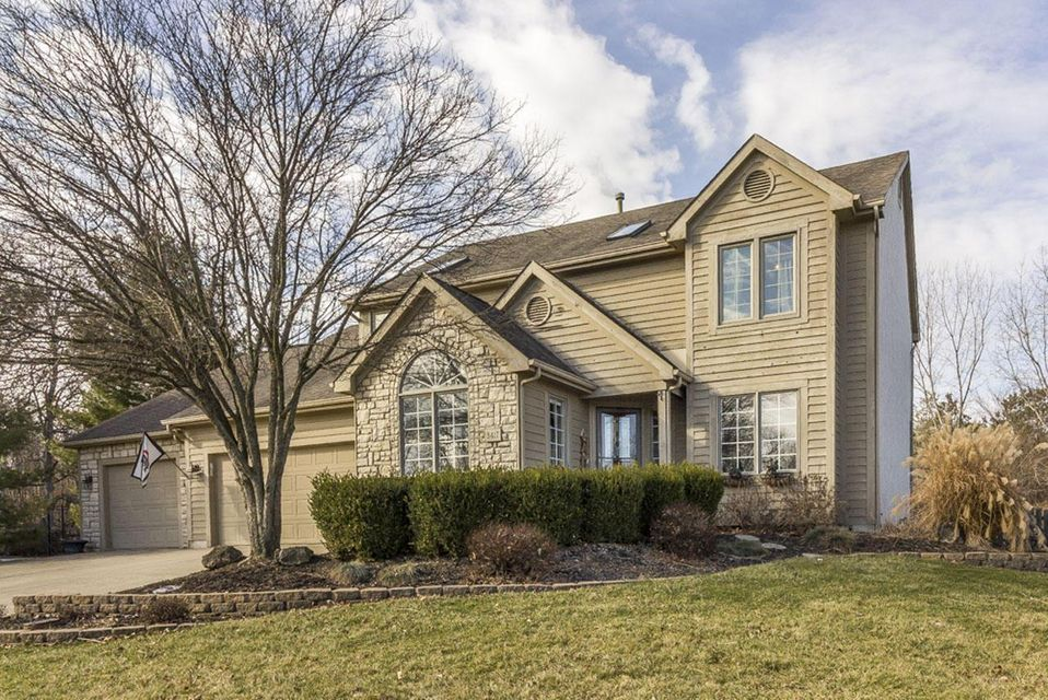 Photo of home for sale at 3417 Foxcroft Drive, Lewis Center OH