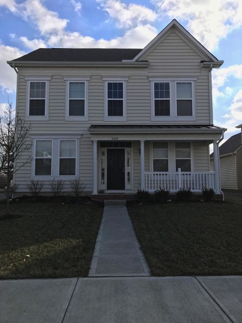 Photo of home for sale at 5495 Sentinel Falls Street, Dublin OH