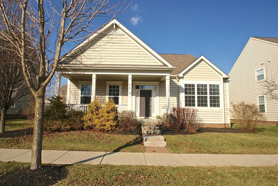Photo of home for sale at 672 Stonefield Drive, Westerville OH