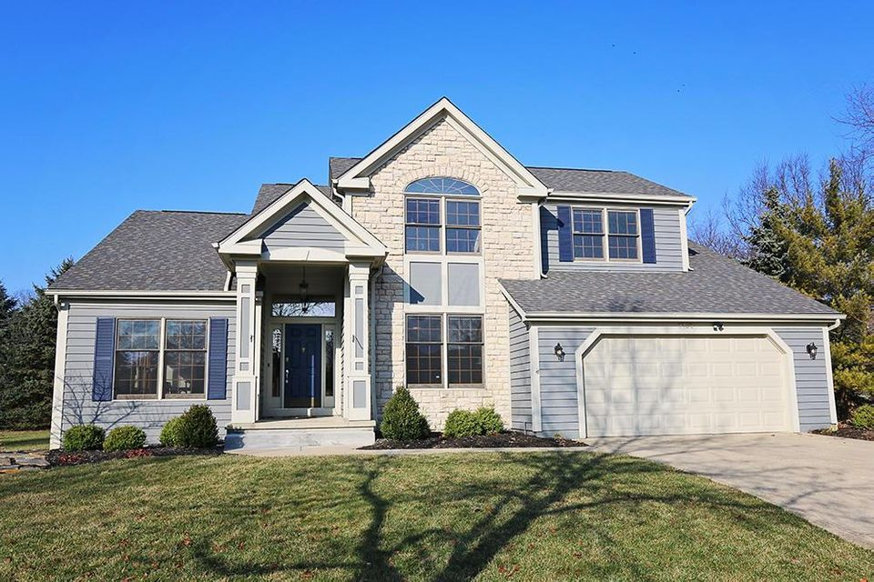 Photo of home for sale at 6958 ROUNDWOOD Court, Dublin OH