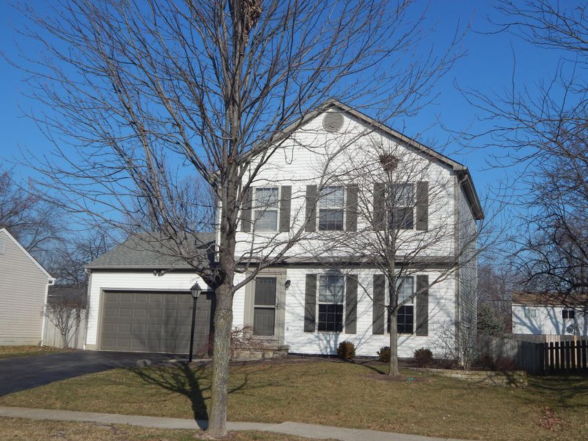 Photo of home for sale at 4478 KRIGGSBY Boulevard, Hilliard OH